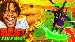*NEW* BEST JUMPSHOT IN NBA 2K21 CURRENT GEN! 100% GREENS AFTER PATCH 9 NEVER MISS AGAIN!