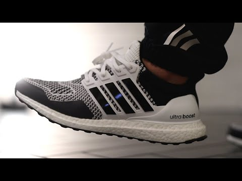 NEW adidas ULTRABOOST 1.0 DNA Reflective Oreo is NICE! Review + On Feet