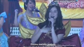 [HD] JKT48   Kimi Wa Melody @ Melody Graduation Concert (TV Ver.) 180513