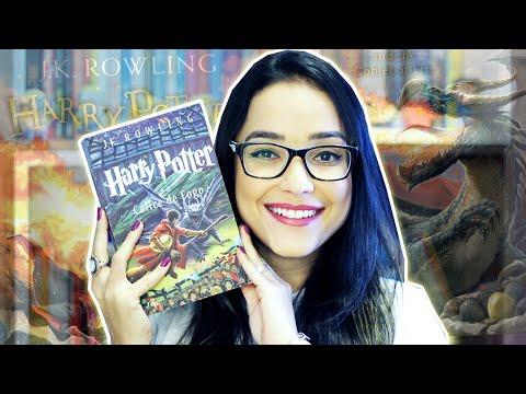 HARRY POTTER E O CÁLICE DE FOGO | Lendo Harry Potter | Nuvem Literária