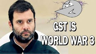 GST Explained By Rahul Gandhi | Angry Prash