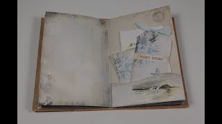 Travel Junk Journal Flip Through - And How To Use It!
