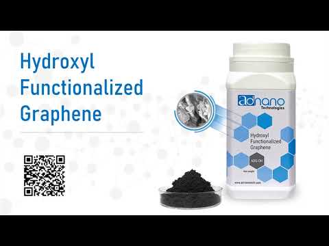Hydroxylic Functionalized Graphene, OH Graphene, Hydroxl Graphene, AD-Nano ADG-OH