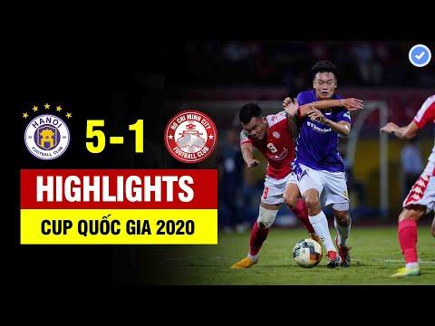 Highlights   Hà Nội FC – CLB TP. HCM   Bán kết Cúp Quốc gia Bamboo Airways 2020