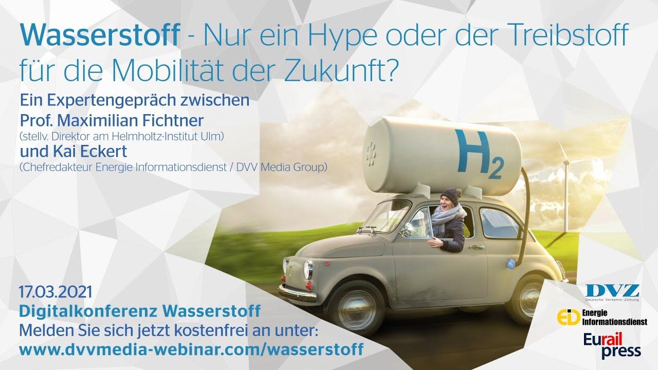 Expertengespräch zum Thema Wasserstoff im Mobilitätssektor