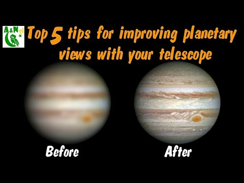 Top 5 Tips For Improving Planetary Views With Your Telescope Mp3
