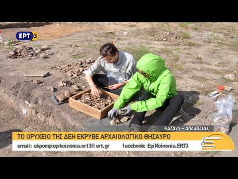 Το ορυχείο της ΔΕΗ έκρυβε αρχαιολογικό θησαυρό   ΕΡΤ