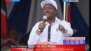 Kalonzo Musyoka gives DP Ruto another dossier