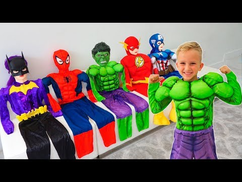 Vlad became a superheroes and helps his friends