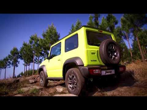 Suzuki  Jimny Внедорожник класса J - рекламное видео 1