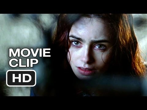 The Mortal Instruments: City of Bones Movie CLIP - Not a Dump (2013) - Lily Collins Movie HD