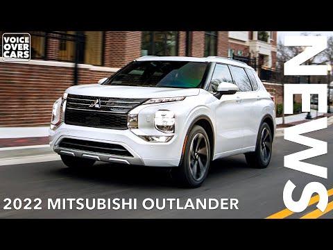 2022 Mitsubishi Outlander | Kommt der neue Outlander auch nach Deutschland?  Voice over Cars News