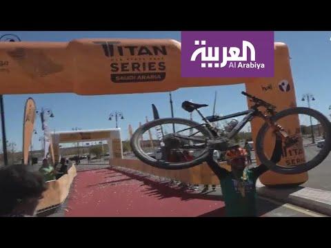 العرب اليوم - شاهد: طواف السعودية في الرياض يشهد مشاركة 130 دراجًا