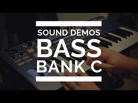 Novation Ultranova - Bass Sounds - Bank C - EVERY SOUND!