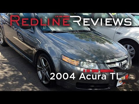 2004 Acura TL Review, Walkaround, Start Up, Test Drive