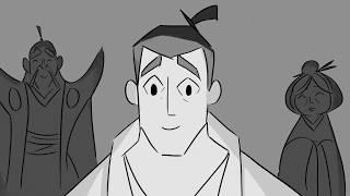 Samurai Jack ( Alternate Ending) Storyboard