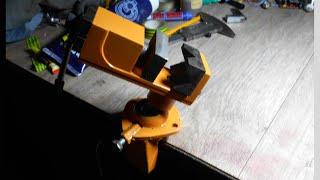 Изготовление наклонно поворотных тисков из БУ шаровой и  обрезков