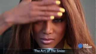 Тайра Бэнкс, Tyra Banks Shows me how to Smize | USA TODAY Talking Your Tech