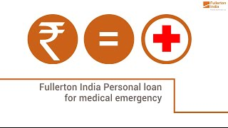 Manage your Medical Emergencies with Personal Loans | Emergency loan for Me