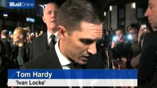 Suited and booted Tom Hardy at premiere of Locke