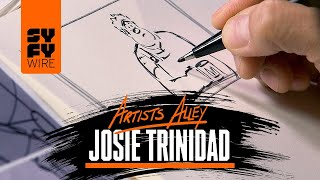 Watch Disney Animation's Head Of Story Share Animation Secrets & Sketch (Artists Alley)   SYFY WIRE