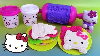 Pâte à modeler Hello Kitty Sandwich Party ハローキティ Play Doh Canal Toys