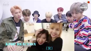 BTS REACTION: BLACKPINK ( 블랙 피크 음악 그룹 ) Blackpink's Daily Life Cute And Fun