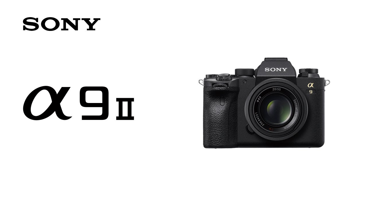 Product Feature | Alpha 9 II | Sony | α