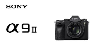 YouTube Video IonW0N9xXAU for Product Sony A9II (A9 Mark 2, ILCE-9M2) Full-Frame Mirrorless Camera by Company Sony Electronics in Industry Cameras