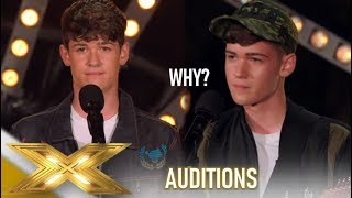 Max & Harvey: Twins Have To Sing A Second Song..Watch What Happens! | The X Factor 2019: Celebrity