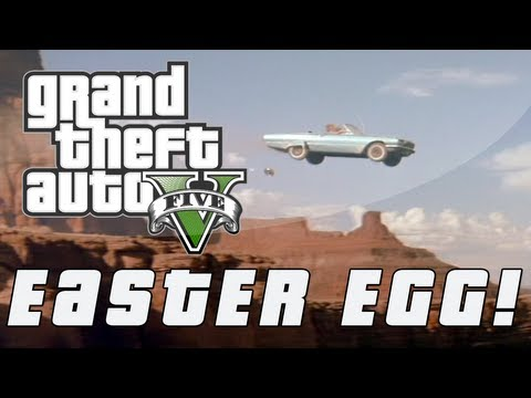 Grand Theft Auto 5 | Thelma & Louise Ending Easter Egg! (GTA V)