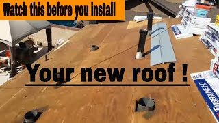 Replacing your Old Roof ? WATCH  this video before you INSTALL  your new ROOF...( must watch)