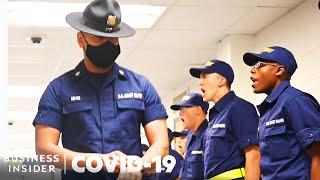 How Coronavirus Is Changing Coast Guard Boot Camp