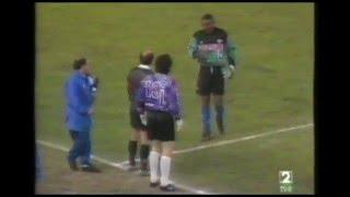 Albacete 1 - Rayo Vallecano 0. Temp. 92/93. Jor. 18.