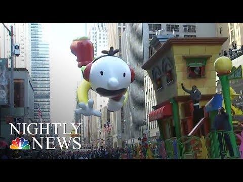 America Kicks Off The Holiday Season   NBC Nightly News