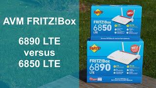 Vergleich: AVM FRITZ!Box 6850 LTE vs. 6890 LTE