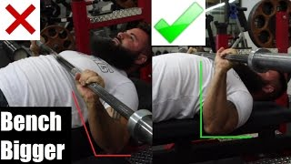 BENCH BIGGER: USING YOUR LATS U0026 ELBOW POSITION (Ft. Silent Mike)