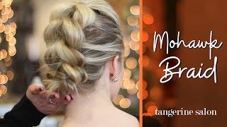 Hair Tutorial : Mohawk Pull-Through Braid
