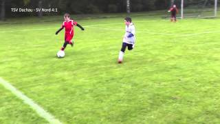 preview picture of video 'TSV Dachau - SV Nord Lerchenau E3, 3 Spieltag 05.10.2013, U11 (E-Jun.) Nord 04, E-Junioren'