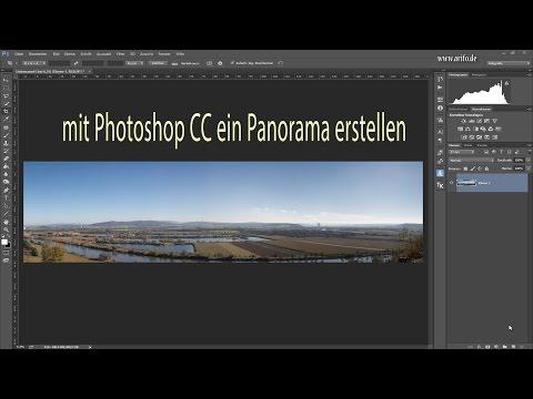 Ein Panorama mit Photoshop CC erstellen