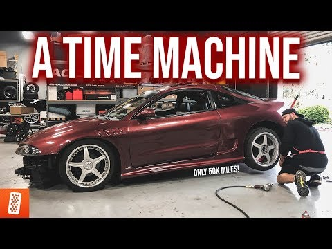 REVIVING A FAST & FURIOUS LEGEND!!! (MITSUBISHI ECLIPSE GETS NEW WHEELS!?)