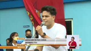 Jóvenes de Cuba muestran su respaldo a Cuba