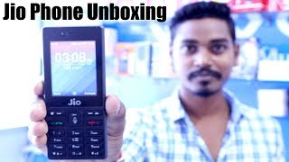 Jio Phone Unboxing and First Look - 1500Rs India Ka SmartPhone 🔥
