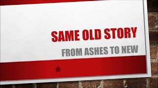From Ashes To New - Same Old Story (Lyrics)