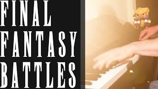 FINAL FANTASY Battle Themes Piano Medley (I, II, III, IV, V, VI, VII, VIII, IX, X)
