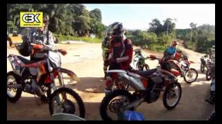 preview picture of video 'CBK Lasah to Cameron off road riding Nov. 2012 Part 1'