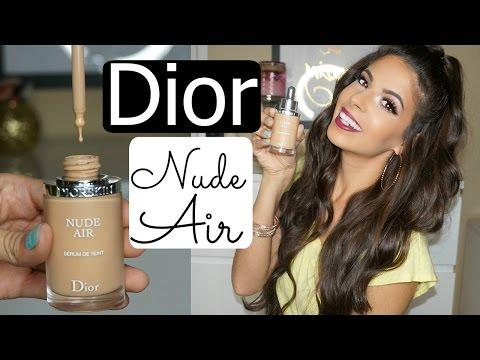 Dior Nude Air Serum Foundation Review & Demo