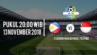 Jadwal Pertandingan Filipina Vs Singapura, Selasa (13/11/2018) Pukul 20.00 WIB