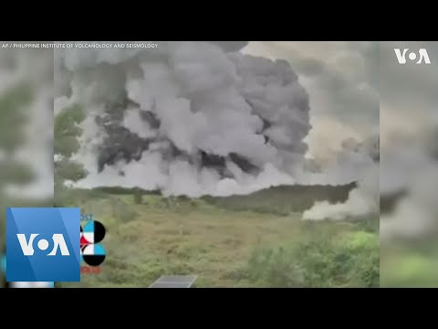 Time-lapse Footage of Eruption From Inside Taal Volcano