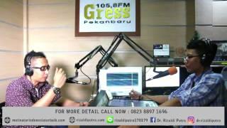 Dr. Rizaldi Putra, MBA - Talk Show (Entrepreneurship) - Motivator Indonesia Terbaik